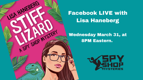 Facebook LIVE with Lisa Haneberg Wednesday March 31  at 8PM Eastern.